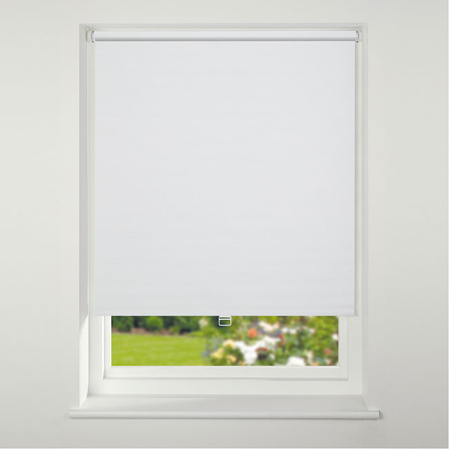 Swish Cordless Texture Blackout Roller Blind 60cm x 170cm White
