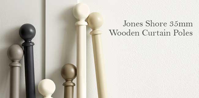 Curtains Ideas 380 cm curtain pole : Jones Shore Curtain Poles